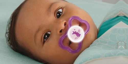 MAM Air Pacifiers 2-Pack w/ Case Only $2.51 Shipped or Less on Amazon | Great for Sensitive Skin