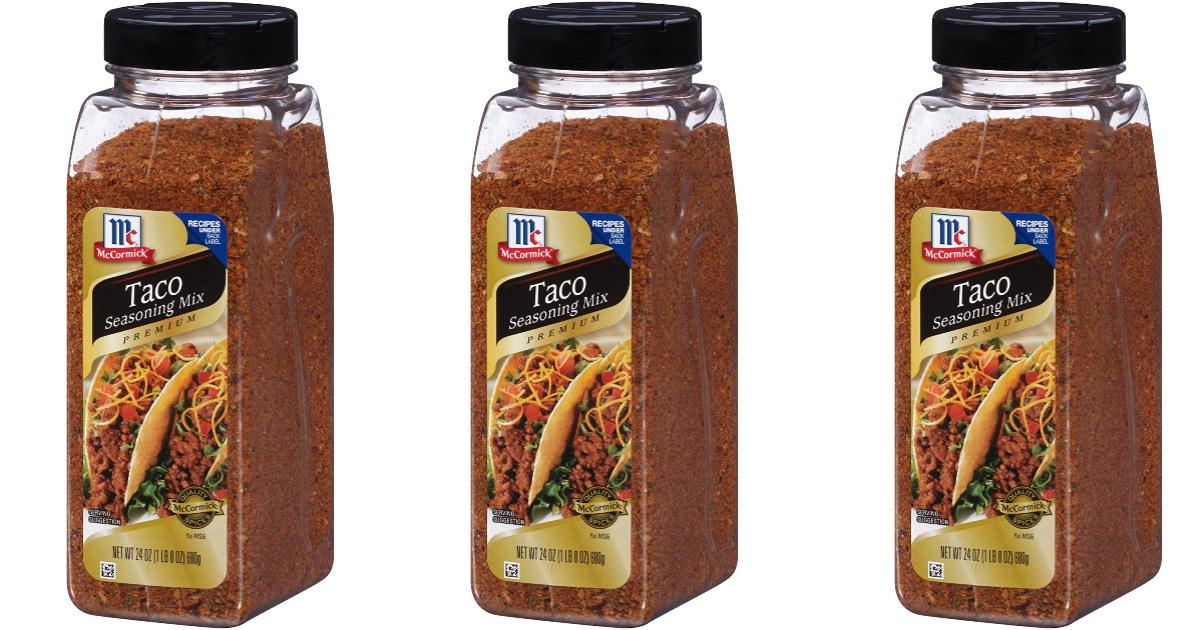 Mccormick Taco Seasoning 24oz Jar Only 4 46 Shipped On Amazon