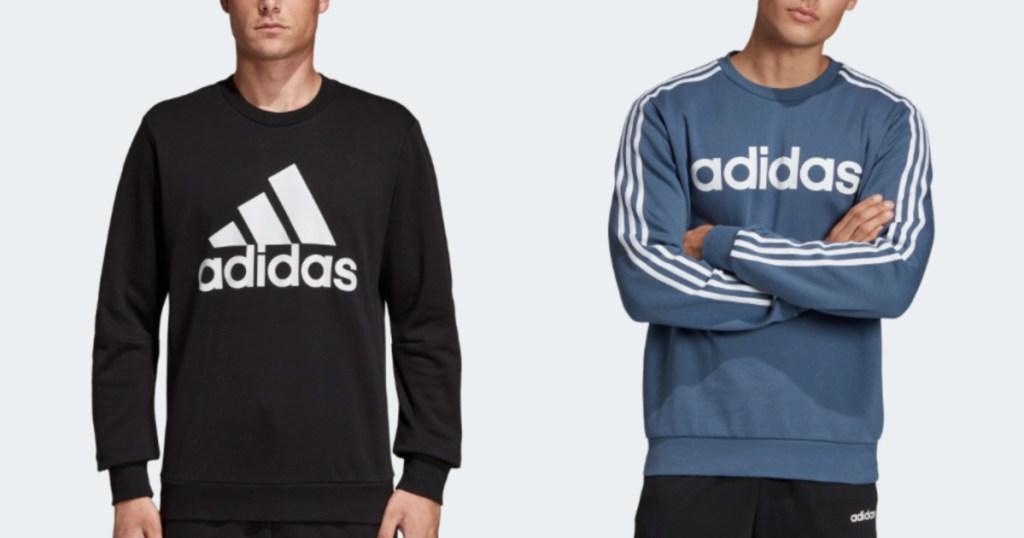 mens adidas sweatshirts