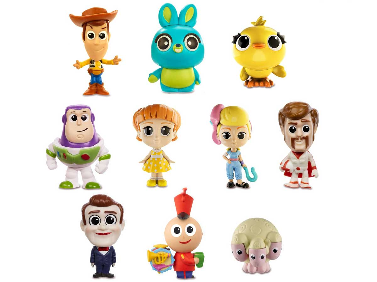stock image of Disney Pixar Toy Story Minis Ultimate New Friends Character 10-Pack