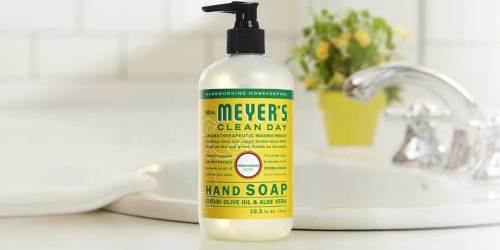 Mrs. Meyer's Hand Soap 3-Pack Only $7.95 Shipped or Less on Amazon