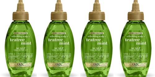 OGX Tea Tree Mint Scalp Treatment Spray Just $3.28 Shipped or Less on Amazon
