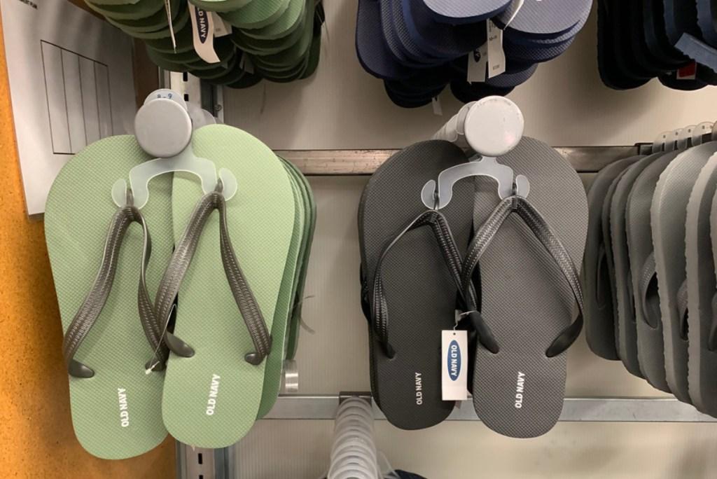 old navy flip flops