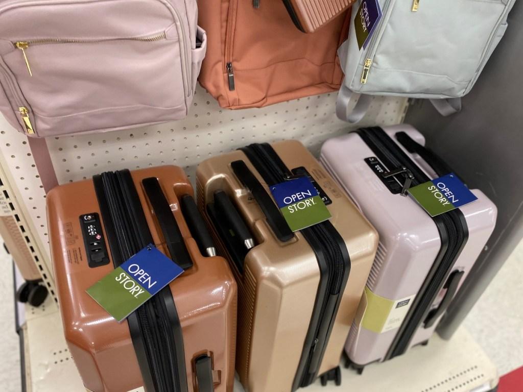 luggage at Target