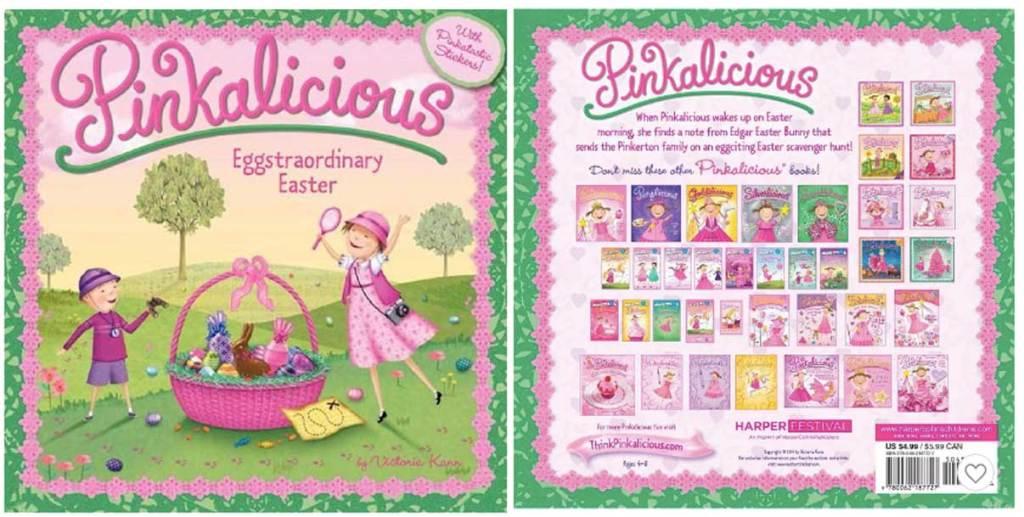 Pinkalicious: Eggstraordinary Easter Paperback Book
