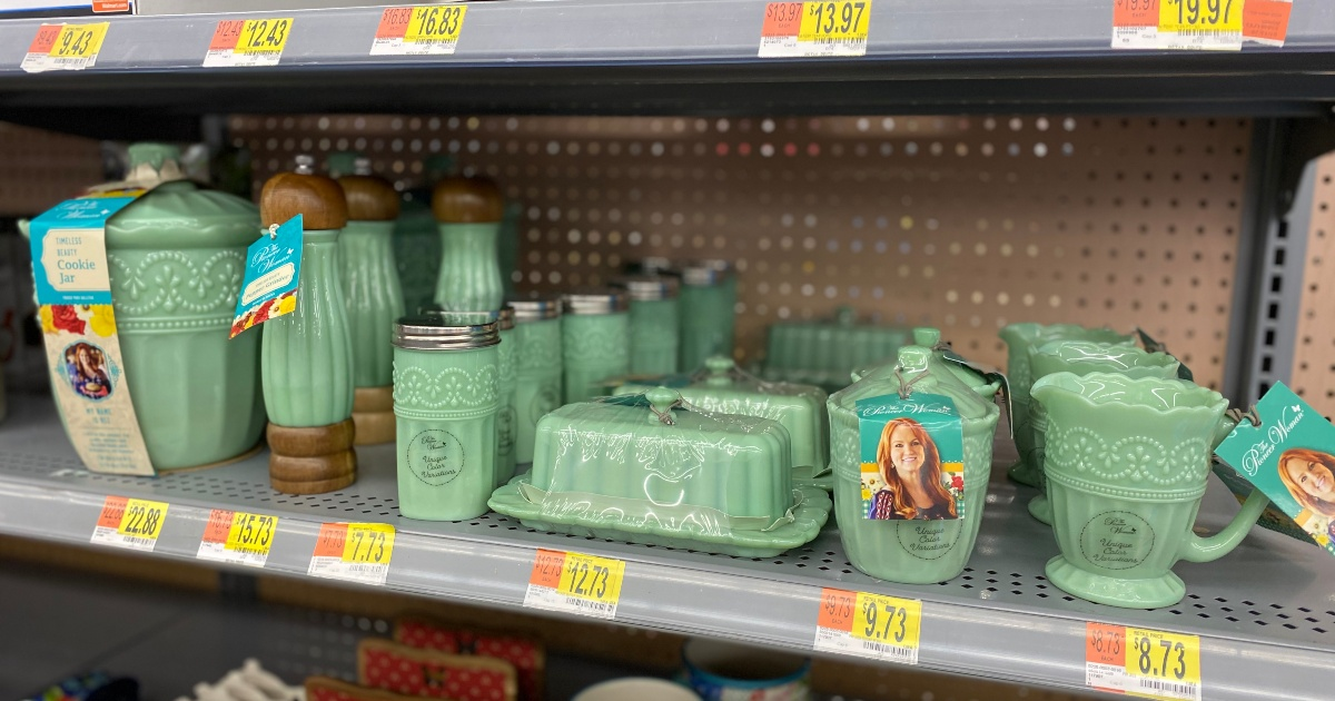 Pioneer Woman timeless beauty collection at Walmart