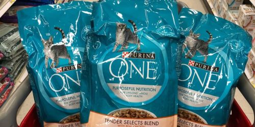 Purina One Cat Food 16-Pound Bag Only $17 Shipped or Less on Amazon (Regularly $25)