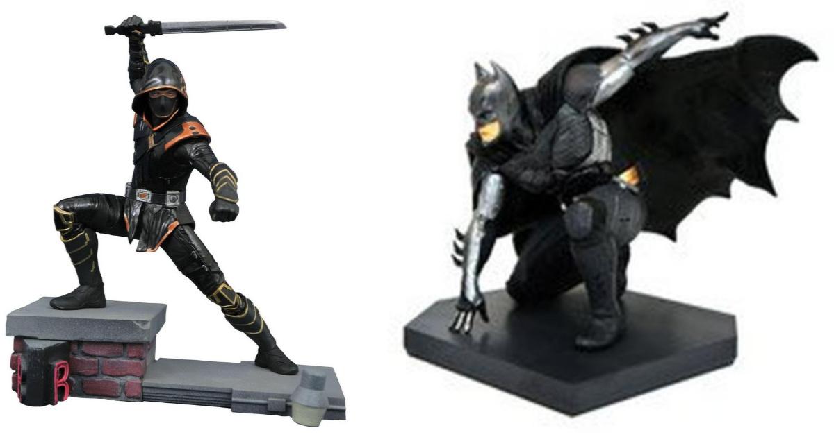 ronin and batman collectibles