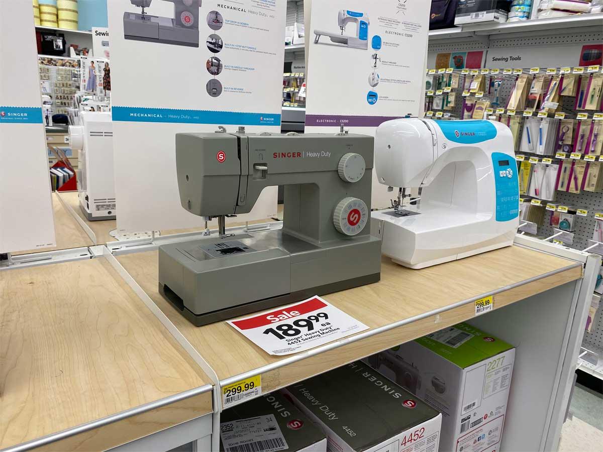 Singer 4452 Heavy Duty Sewing Machine