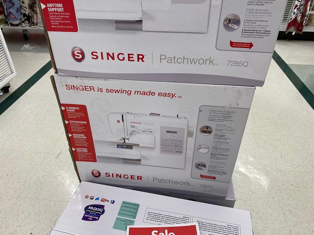 Singer 7285Q Patchwork Quilting Machine