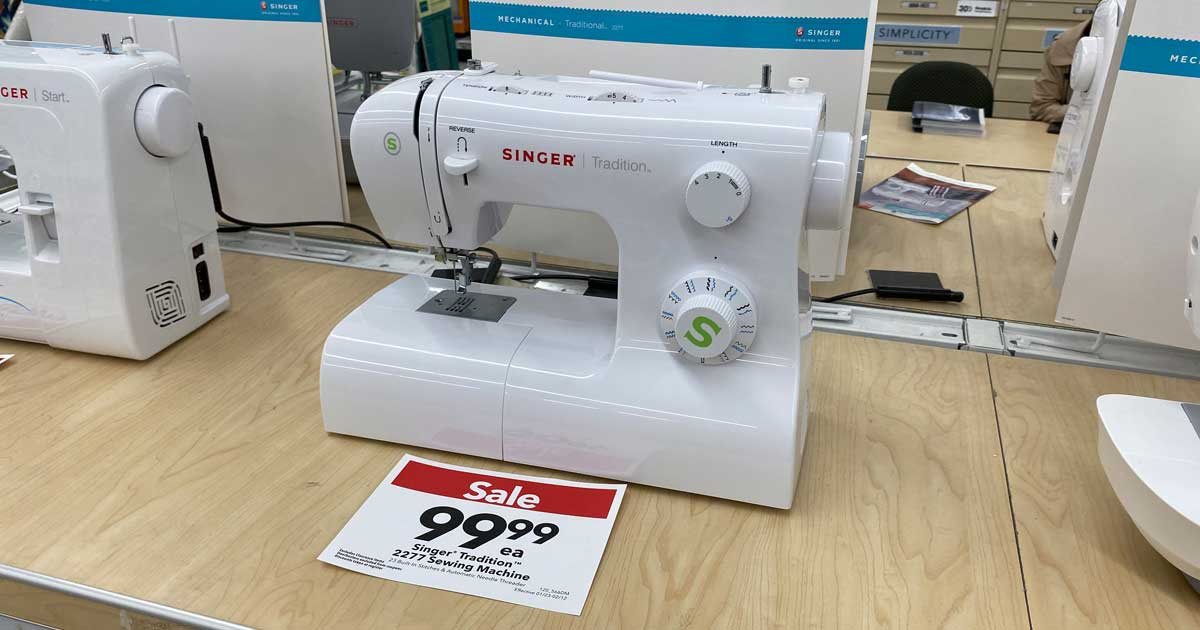 Up To 50 Off Singer Brother Sewing Machines At Joann Free Shipping