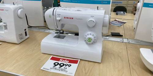 Up to 50% Off Singer & Brother Sewing Machines at JOANN + Free Shipping