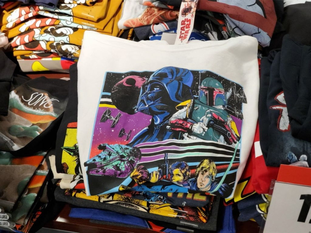 star wars graphic tee in store