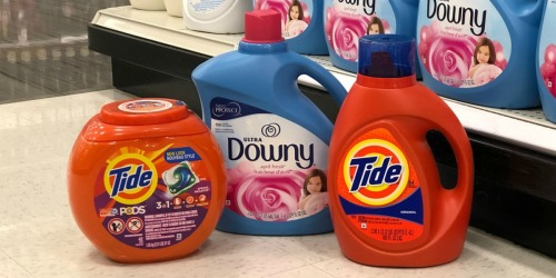 Free $5 Target Gift Card w/ Purchase of Two Laundry or Cleaning Products