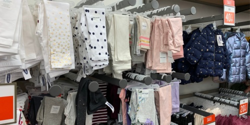 Old Navy Kids Apparel from $2.78 | Leggings, Polos, Jeans & More