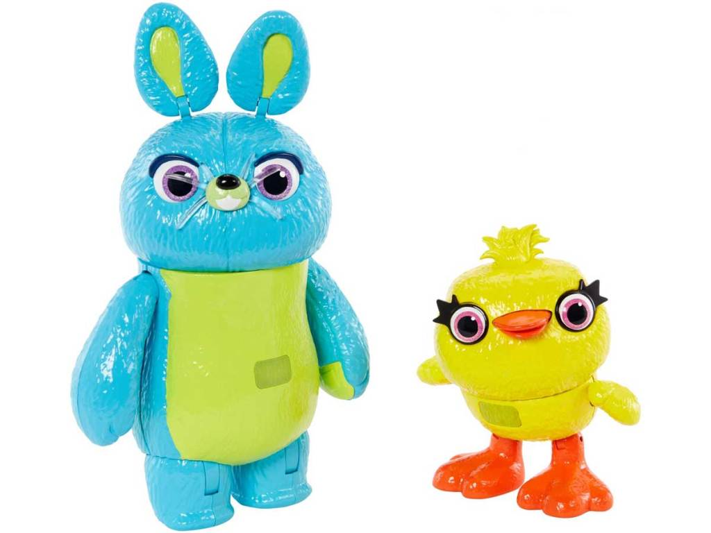 stock image of Disney Pixar Toy Story Interactive True Talkers Bunny and Ducky 2-Pack
