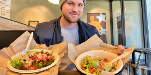 Buy One Entree, Get One FREE at Qdoba Mexican Restaurant