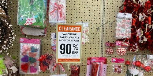 90% Off Valentine's Party, Crafts & Decorations at Hobby Lobby