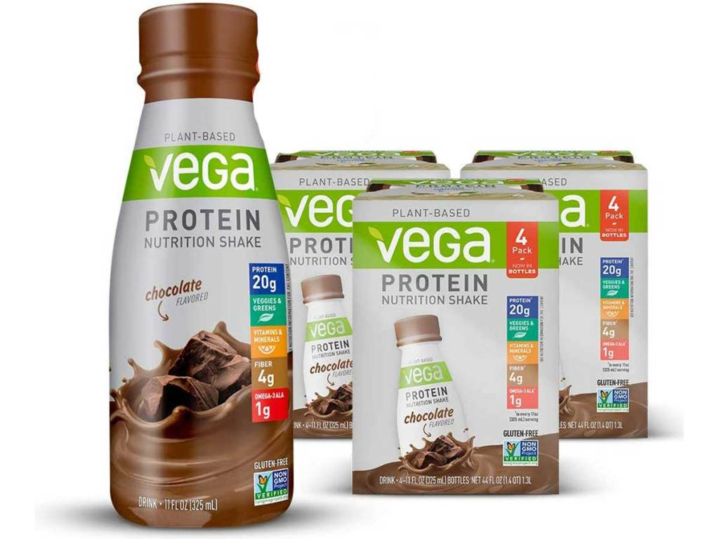Vega Plant-Based Protein Nutrition Shake 12-Count pack
