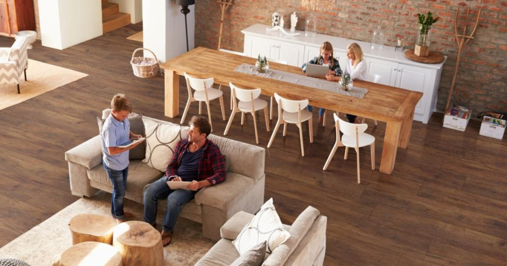 vinyl and plank flooring at home depot