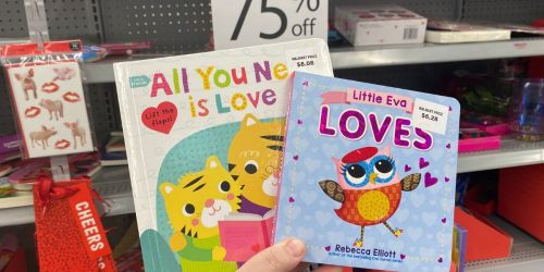 75% Off Valentine's Day Children's Books at Walmart
