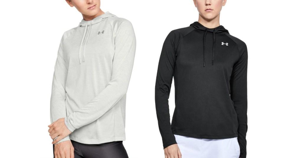 women's under armour hoodies