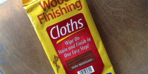 Minwax Wood Finishing Cloths Only $3.09 on Amazon (Regularly $8.50) | Easy Way to Finish Wood