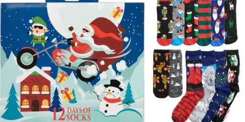 12 Days of Socks Men's Gift Sets as Low as $5.24 Shipped on Kohl's (Regularly $25)