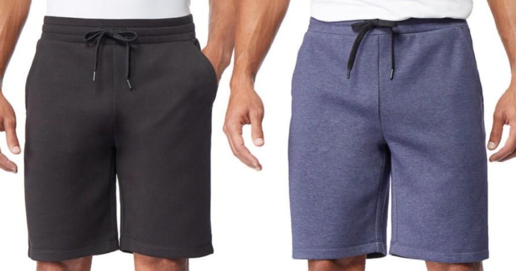 Men wearing 32 degrees shorts