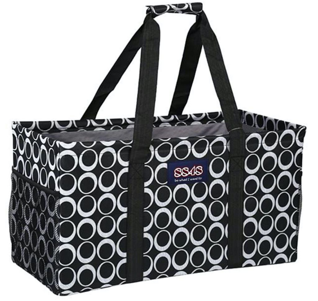 8848 Black and White Tote