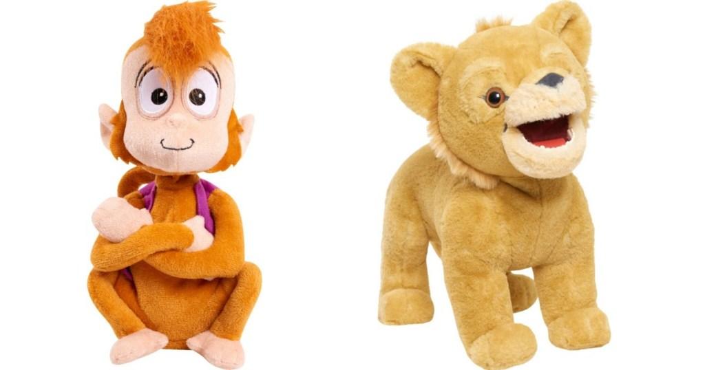 Abu and Simba Plush toys