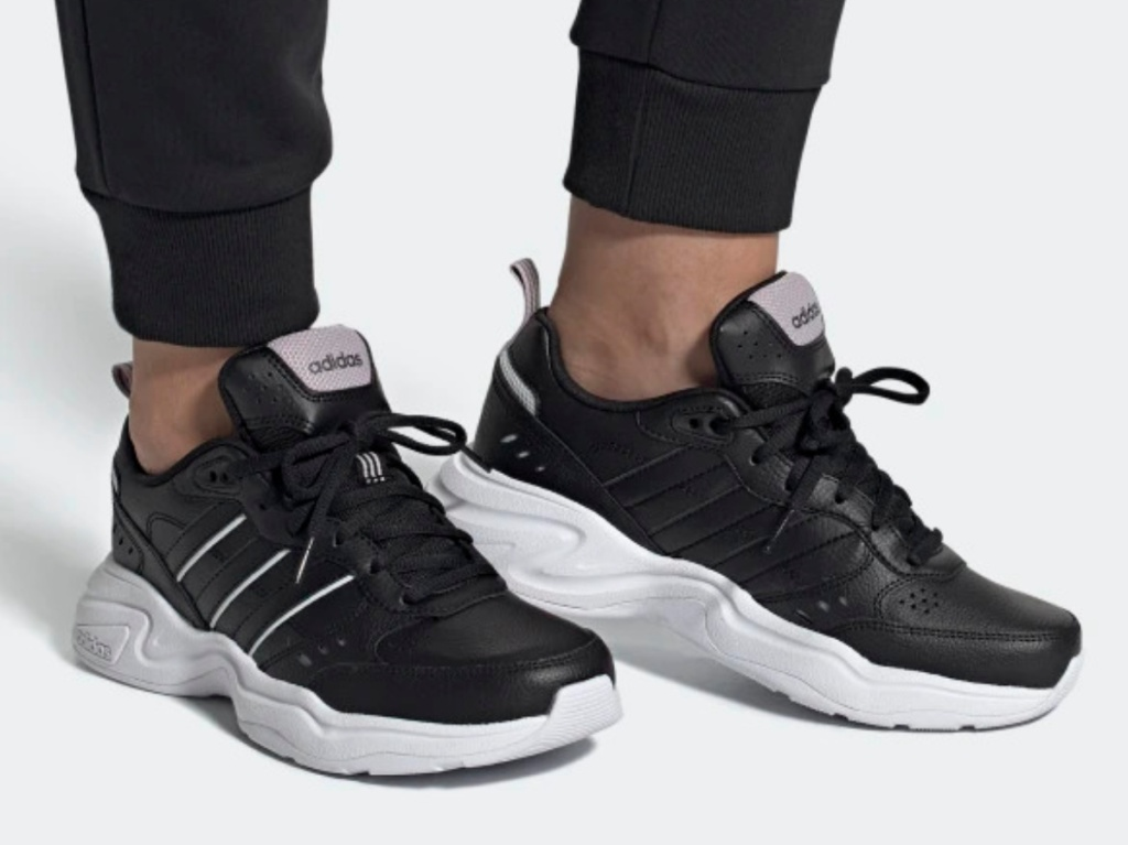 black women's running shoe