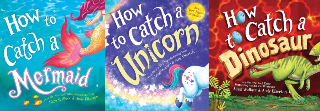 three kids books covers