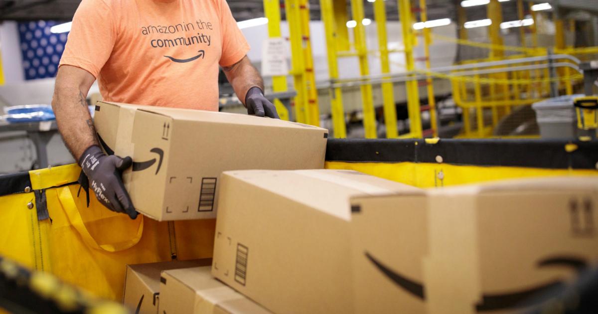 Amazon shipping boxes for amazon warehouse deals