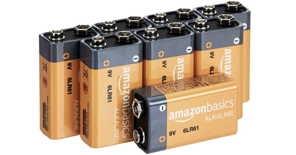 AmazonBasics 9V Everyday Alkaline Batteries