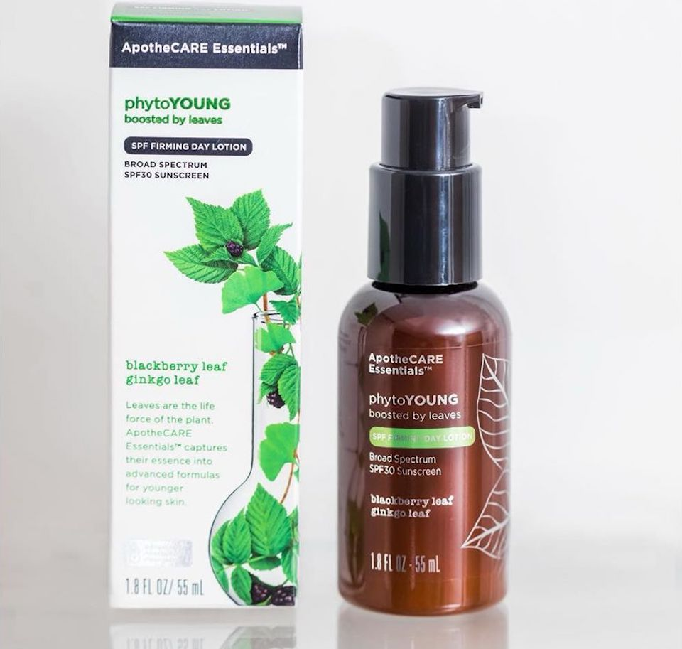ApotheCare Phytoyoung bottle next to box