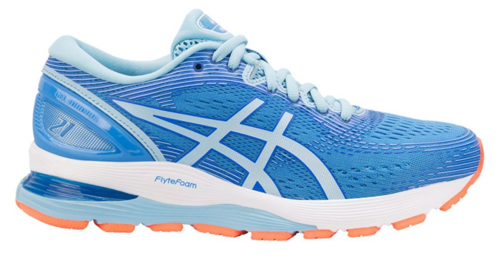women's blue running shoe