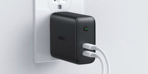 Aukey USB Fast Wall Charger Only $19 Shipped on Amazon