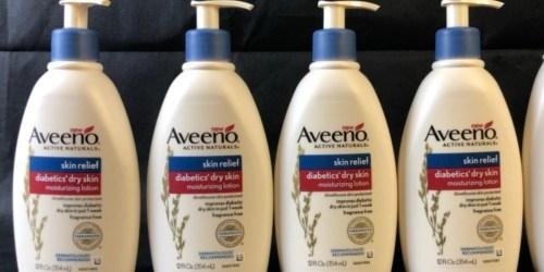 Aveeno Diabetics' Dry Skin Lotion Just $3.84 Shipped or Less on Amazon