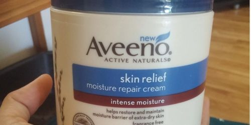Aveeno Skin Relief Moisture Repair Cream Only $7.69 Shipped on Amazon (Regularly $11)