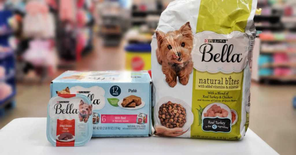 Bella Dog Food wet and dry dog food