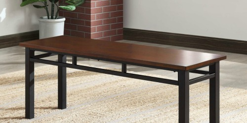 Better Homes & Gardens Dining Bench Just $58 Shipped on Walmart.com (Regularly $89)
