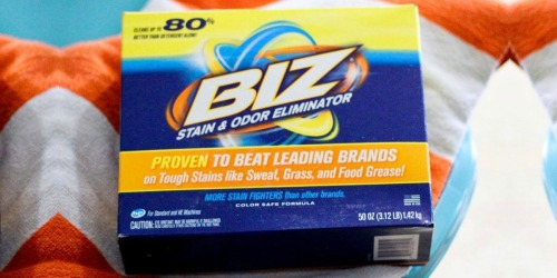 HUGE Biz Laundry Detergent Powder Booster Box Only $5.97 Shipped on Amazon