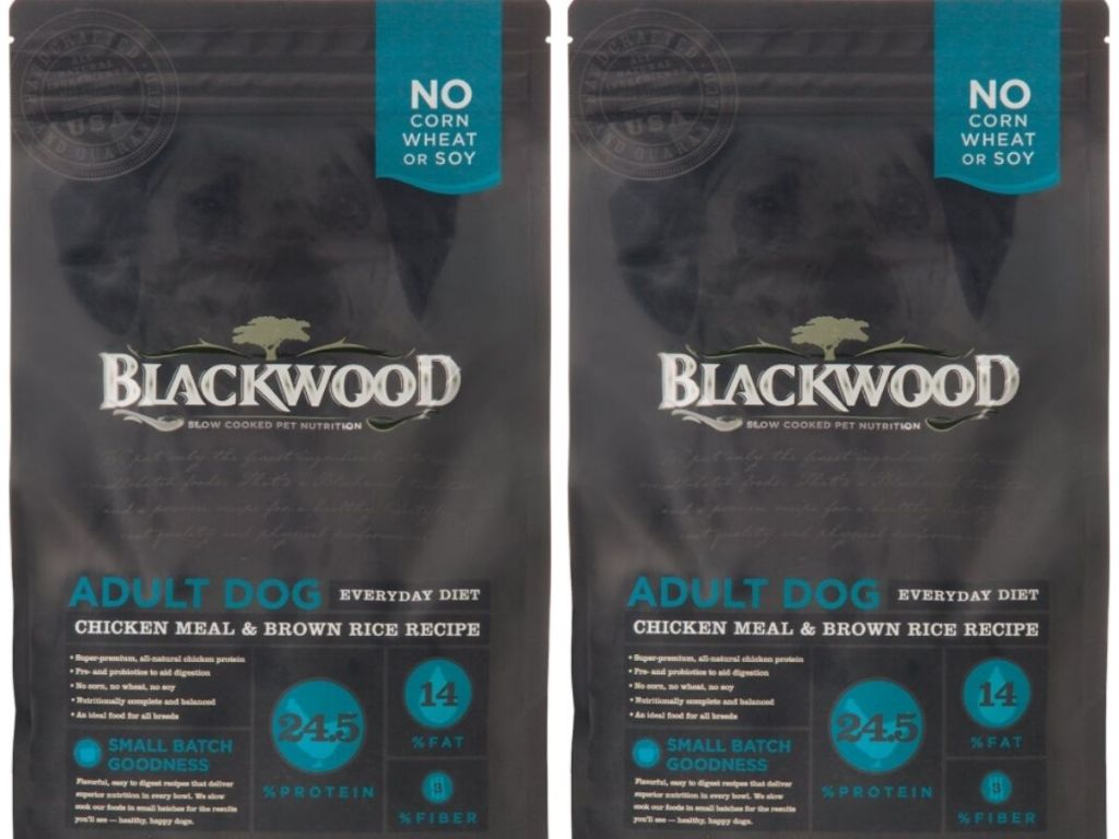 Two Bags Of Dry Adult Dog Food