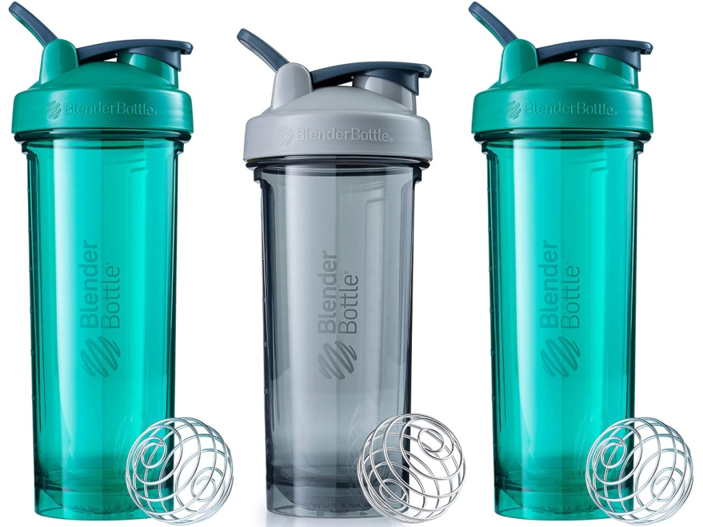 BlenderBottle grey and teal