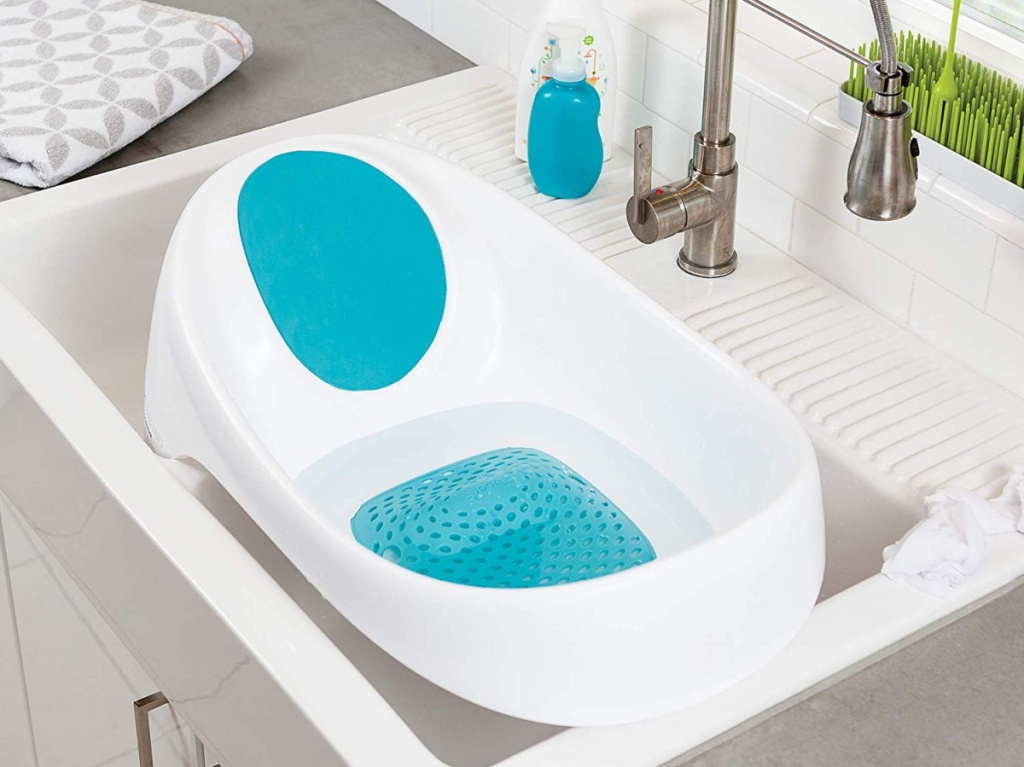 bathtub in sink