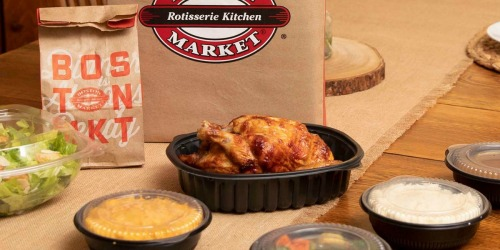 Boston Market Family Meals Under $24 + Free Delivery | Feeds 3 to 6 People