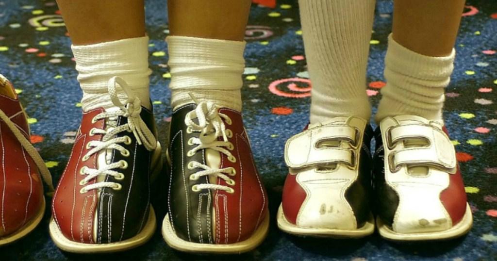 Kids bowling shoes