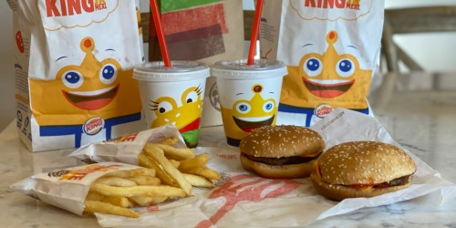 TWO Free Burger King Kids Meals w/ ANY Purchase (Valid Every Day Through April 6th)