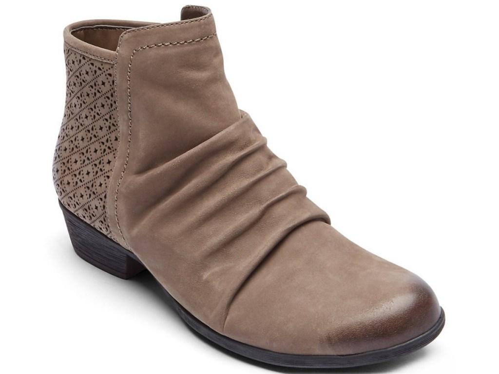 womens ttaupe bootie